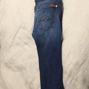 7 for all mankind jeans size 27.